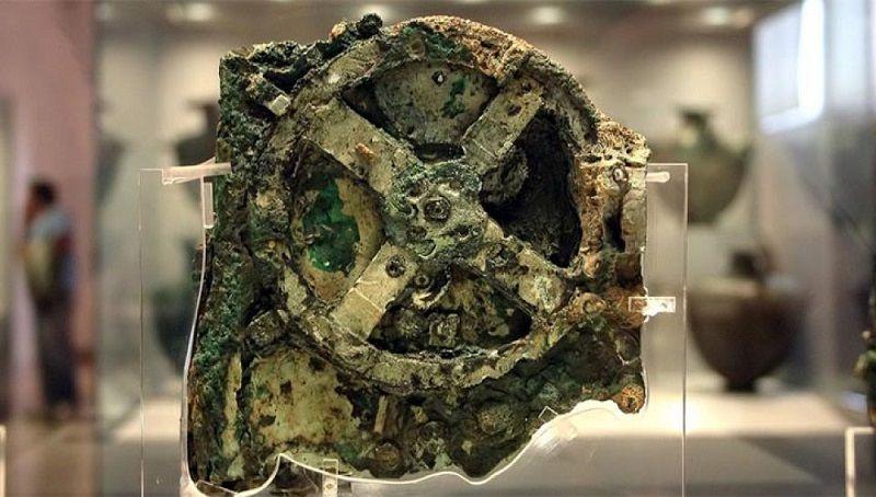 Древнегреческий механизм (фрагмент)