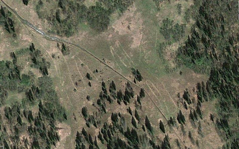 Гигантский геоглиф в Челябинской области
