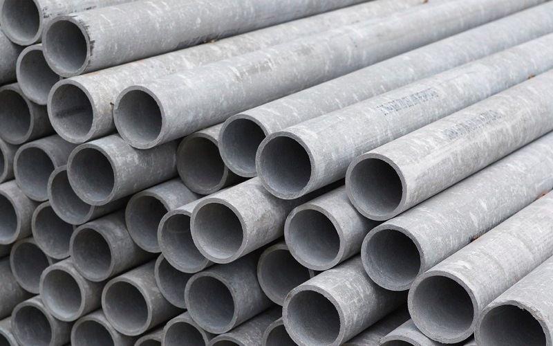 Обсадные трубы из оцинкованной стали или асбестоцемента
