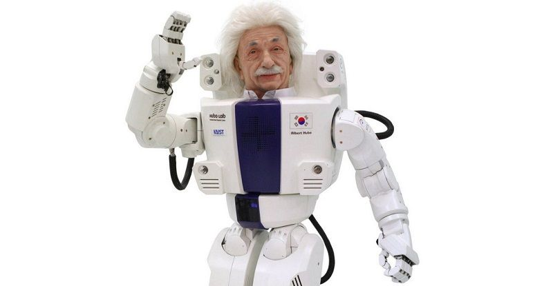Робот-клон Энштейна Альберт Хумо