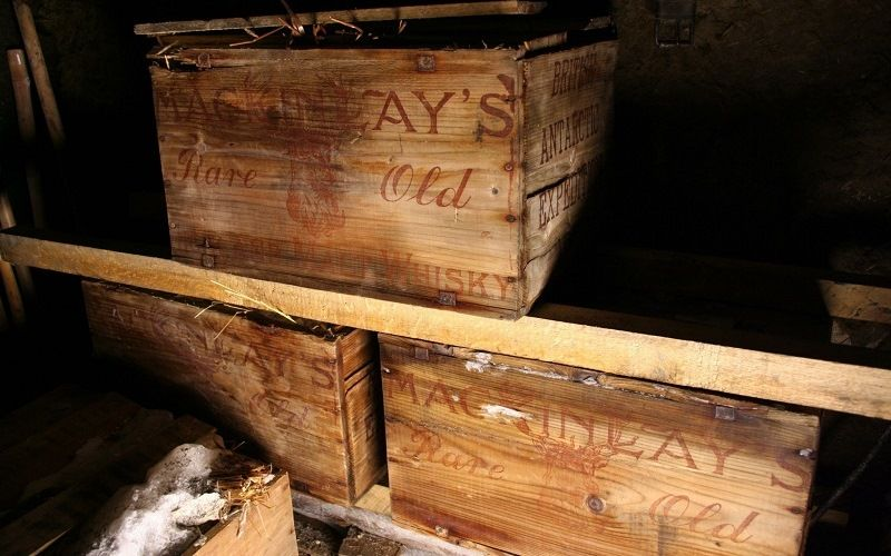 Виски сэра Шеклтона, найденные в Антарктиде