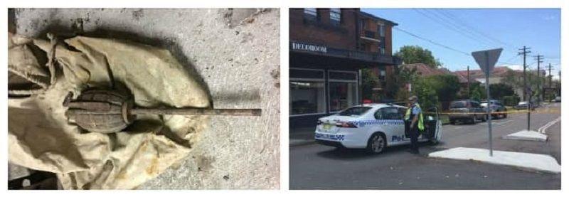 Ручная граната в доме Сиднея