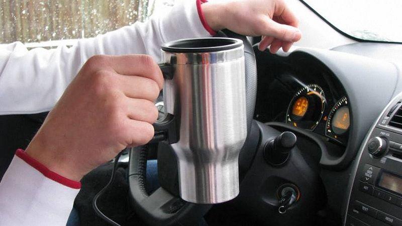 Автомобильная термокружка с подогревом