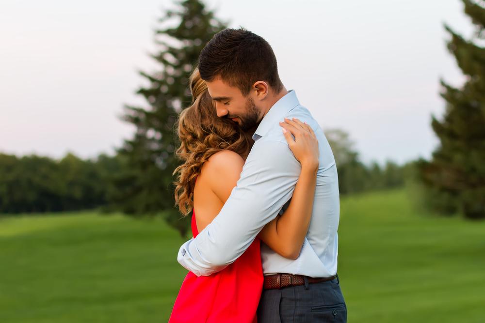 влюбленная пара нашла друг друга