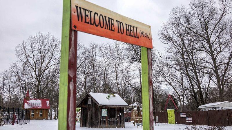 Город Хелл, штат Мичиган