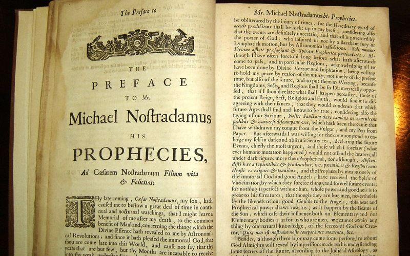 Пророчества Нострадамуса