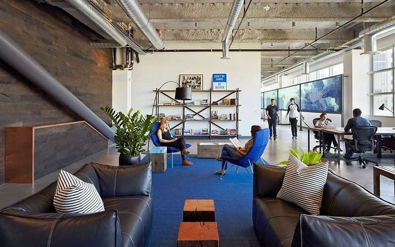 Офис Dropbox в Сан-Франциско