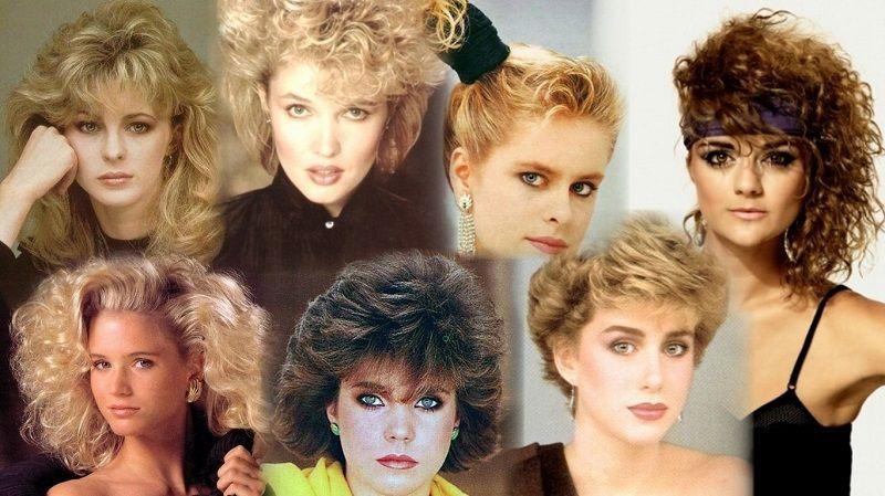 Прически 80-х