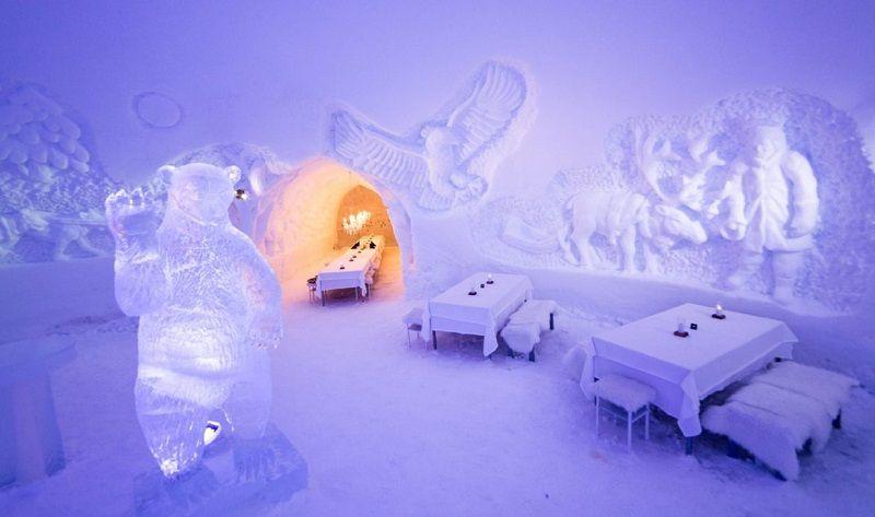 Ледяной ресторан