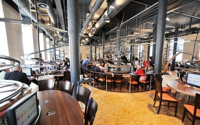 Автоматизированный ресторан в Нюрнберге