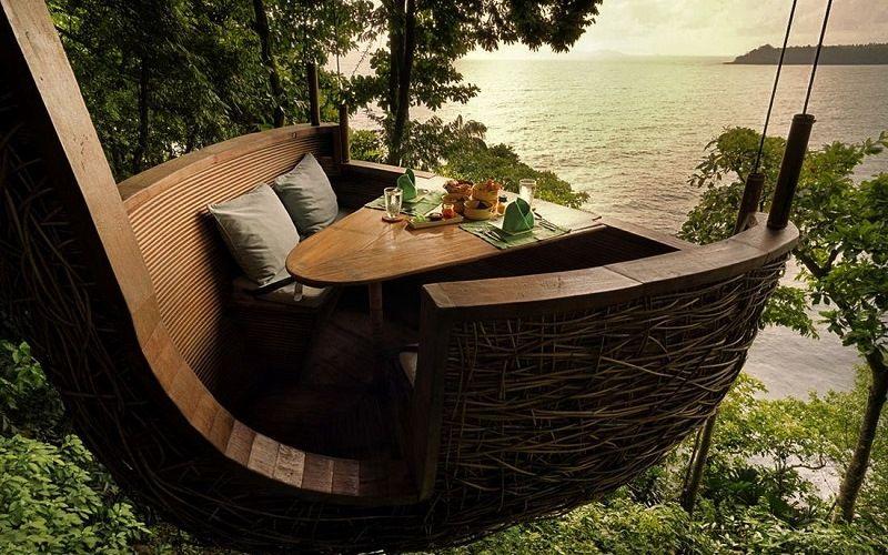 Птичье гнездо на острове Ко Куд в Таиланде