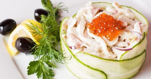 Необычные салаты