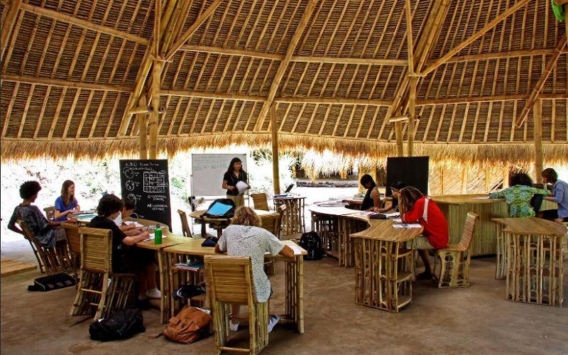 «Зелёная» школа на Бали