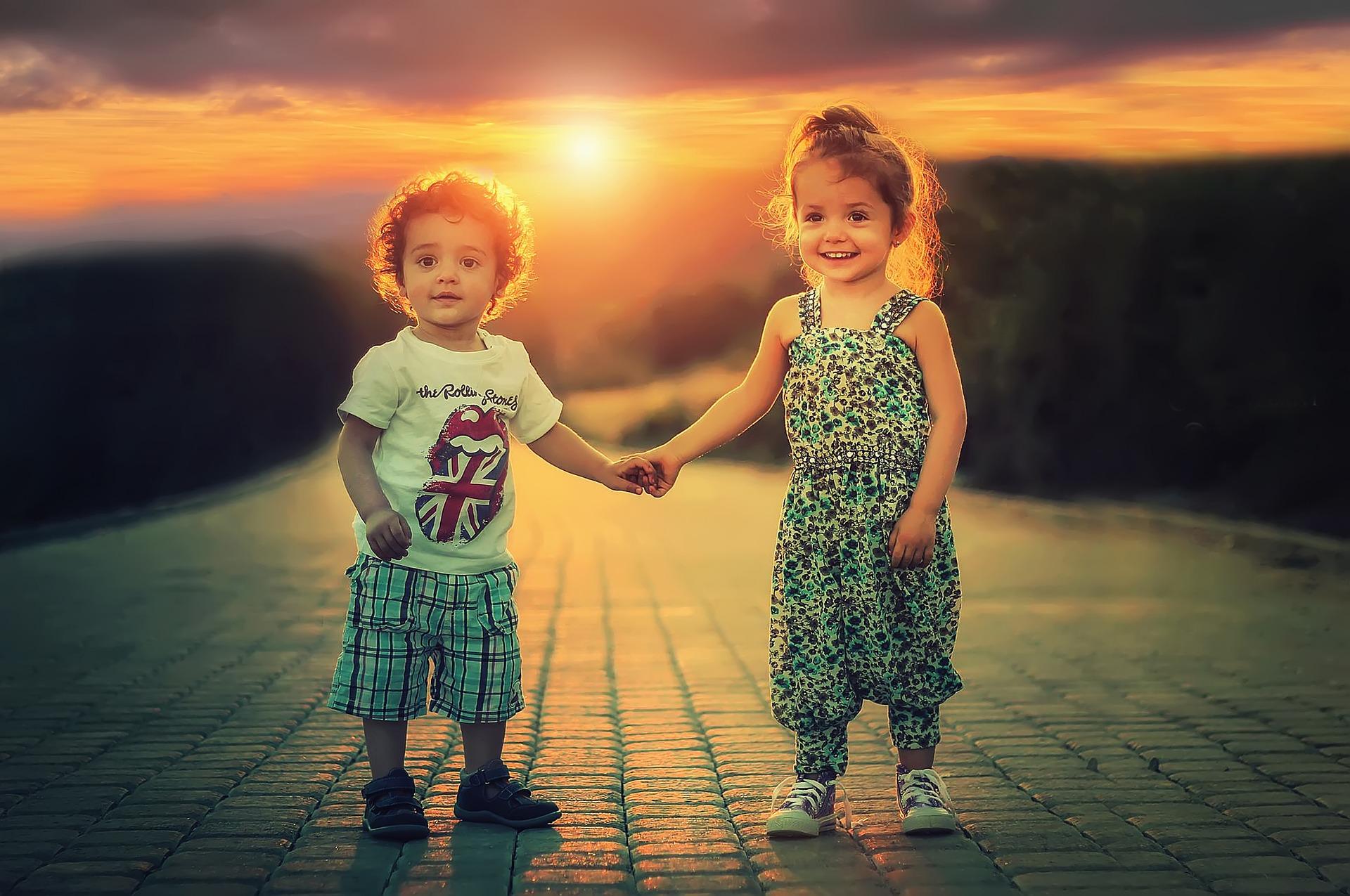 дети счастливы