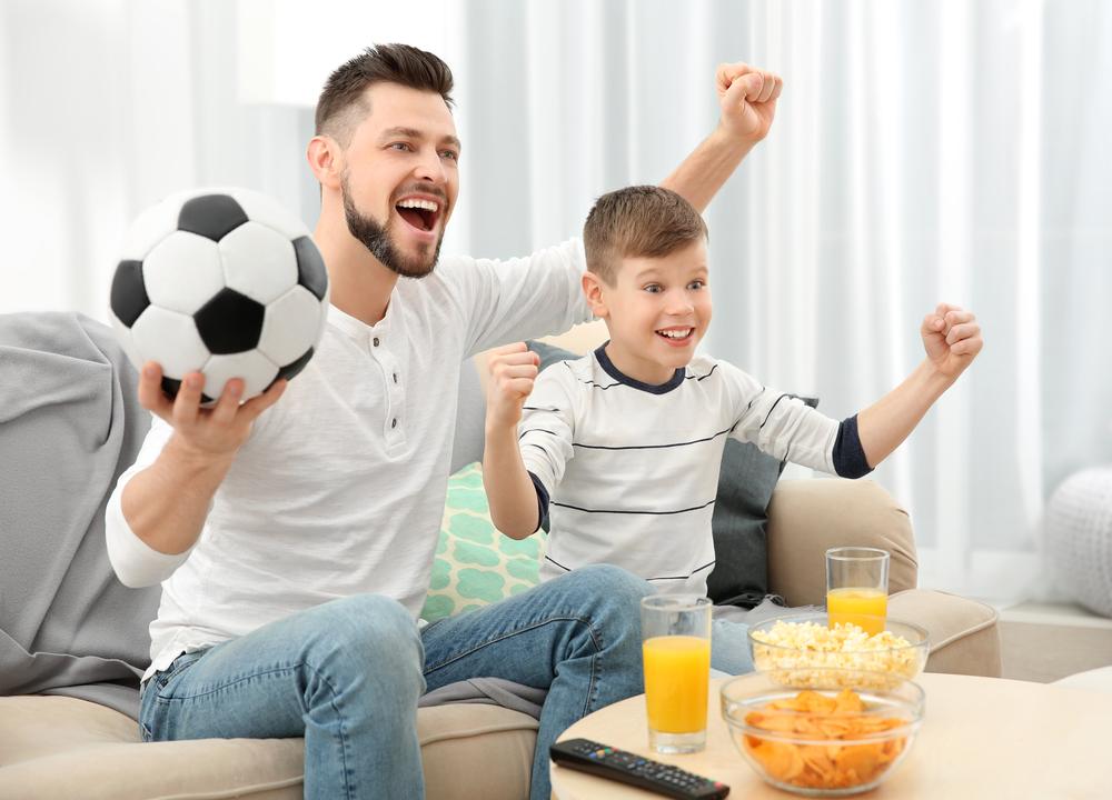 любовь к футболу