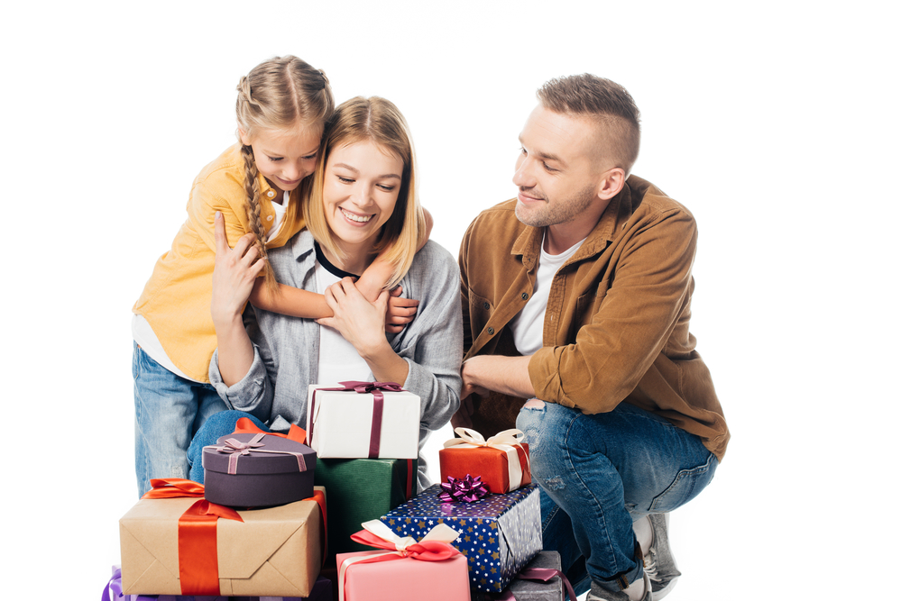 подарки в семье на день рождения