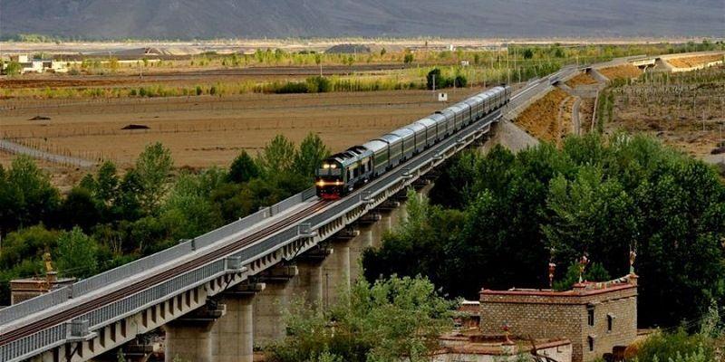 Высокогорная железная дорога Цинхай-Тибетская