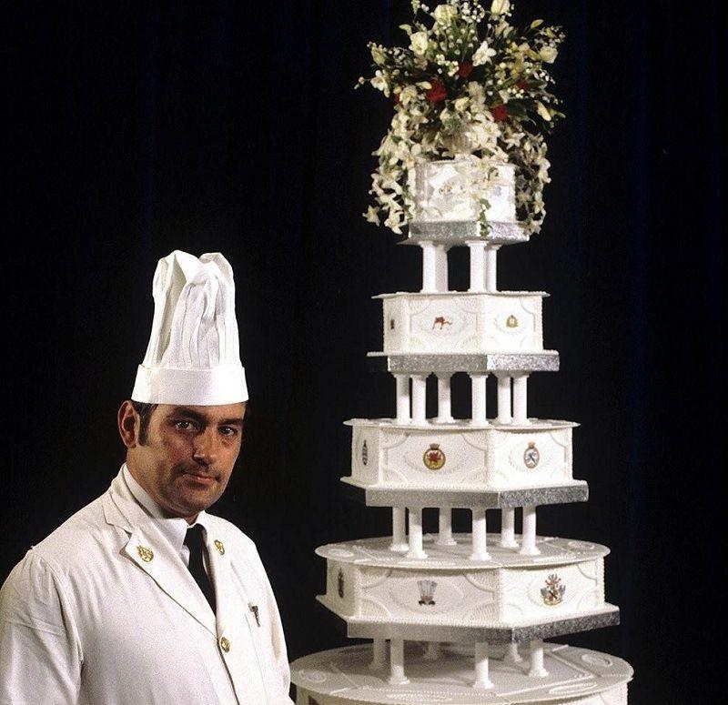 • Свадебный торт Дианы Спенсер и принца Чарльза