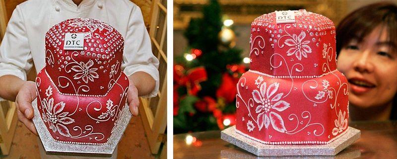 Торт «Блестящая пыль»