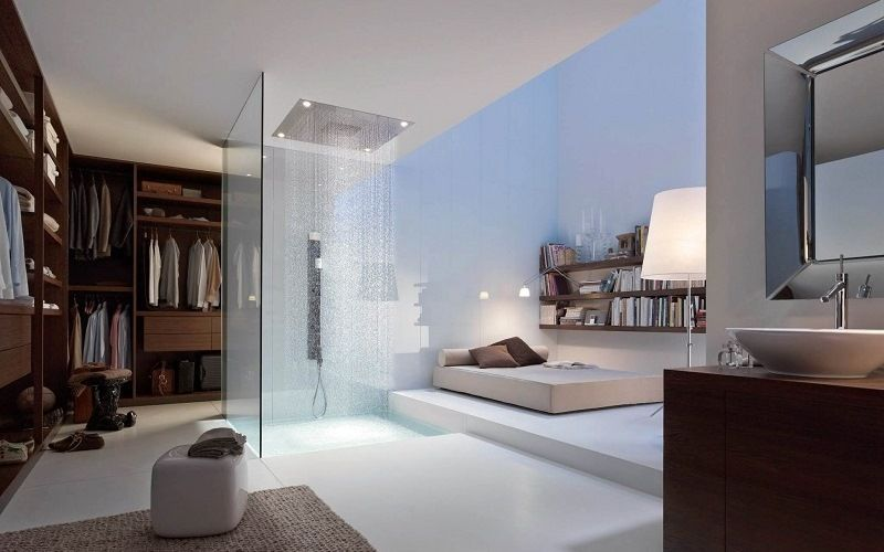 Зона отдыха с ванной