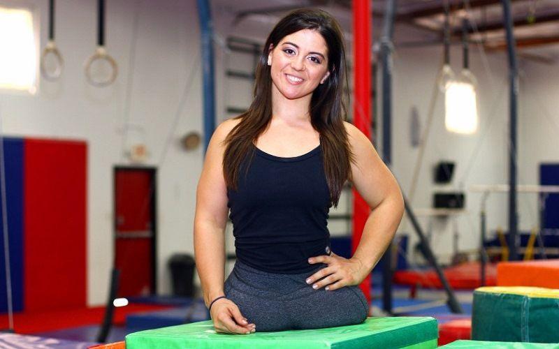 Безногая гимнастка Джен Брикер