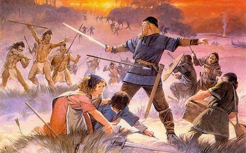 Война между викингами и скралингами