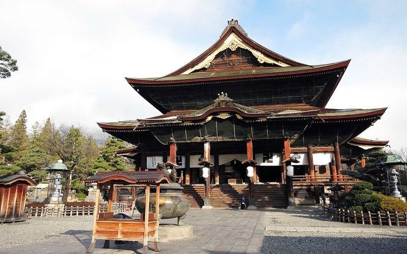 Буддийский храм Кита-Ин в Кавагоэ
