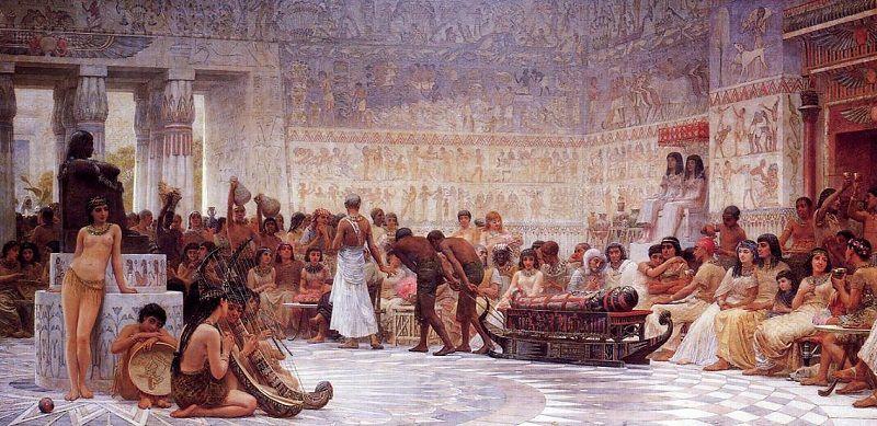 Новогодние традиции в Древнем Египте