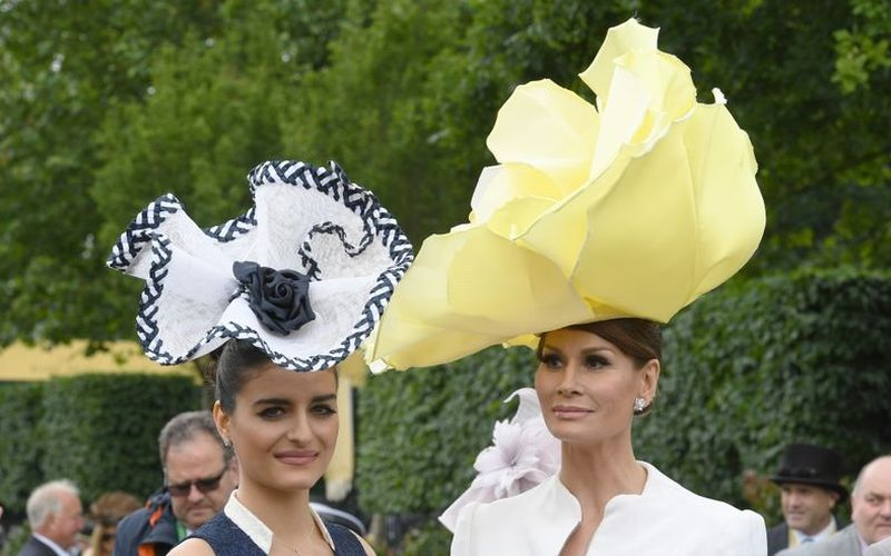 Шляпная мода на Royal Ascot