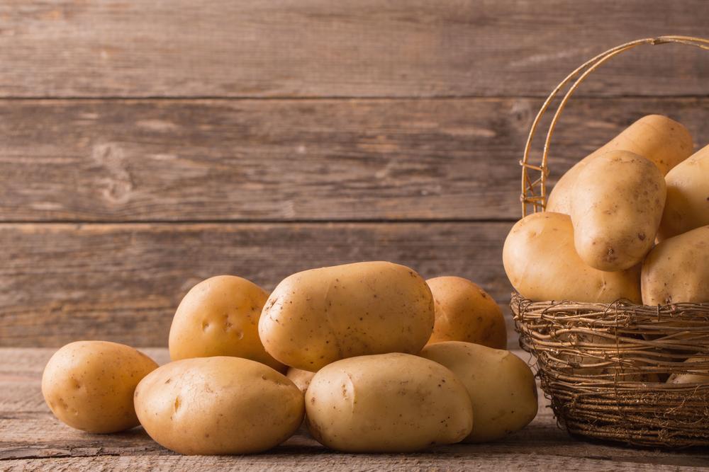 картофель с огорода