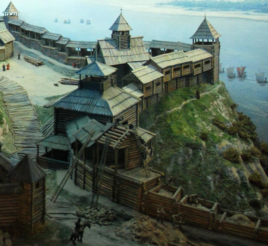 Строения в древней Руси