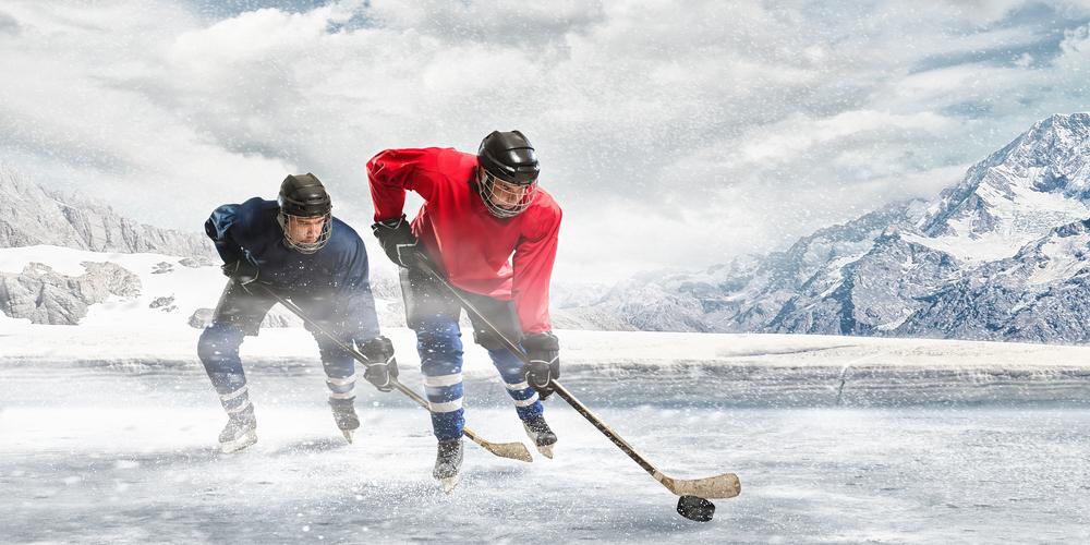 играют в хоккей