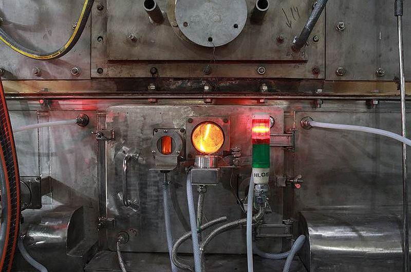Плазменная печь для переработки отходов