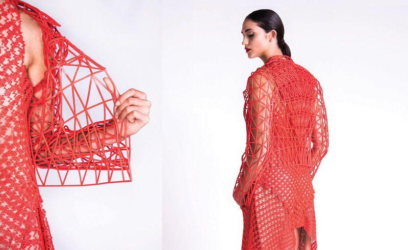 Одежда на 3D-принтере