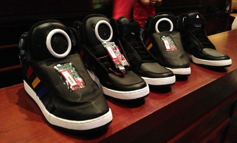 Google Talking Shoes