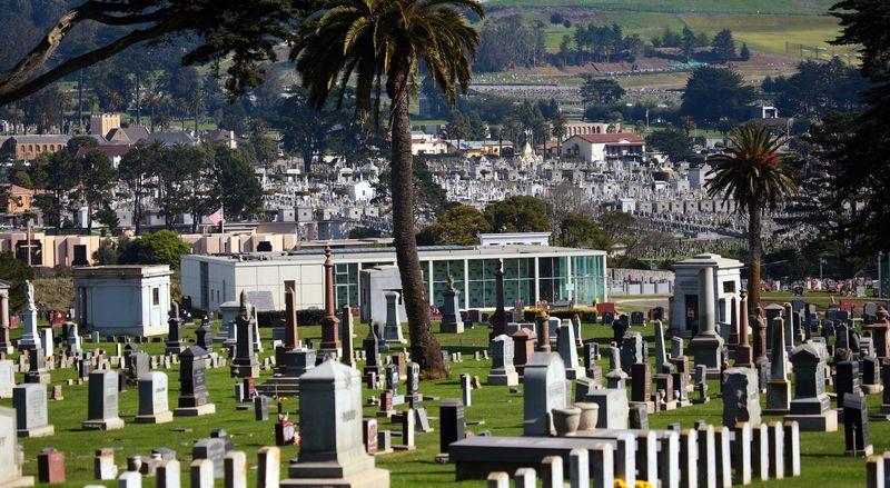 Колма – город мертвых