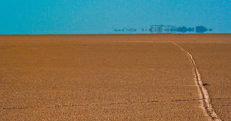 Миражи в Сахаре