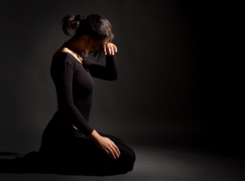 дочь в трауре