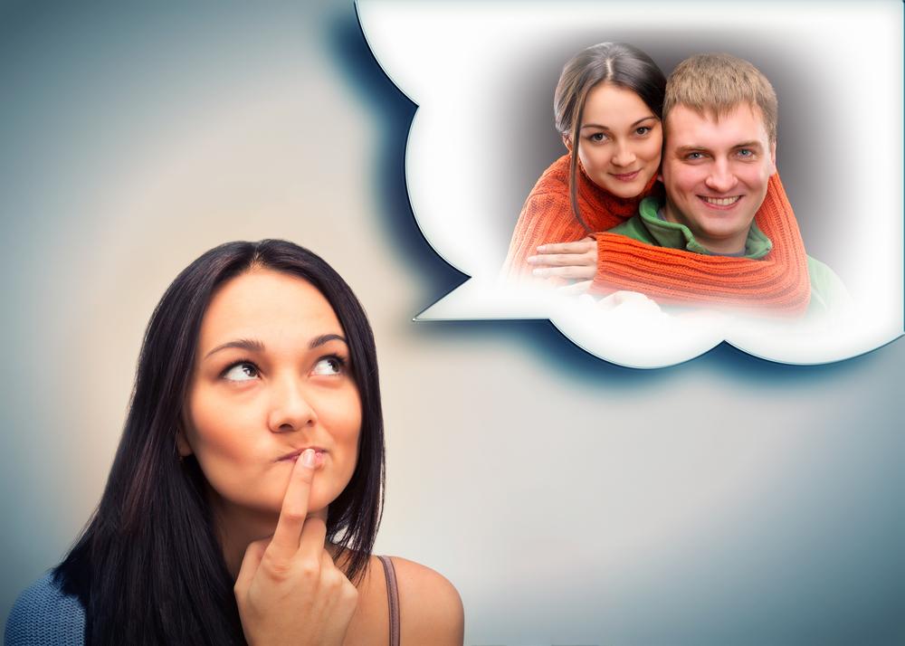 женщина надеется на будущие отношения с парнем