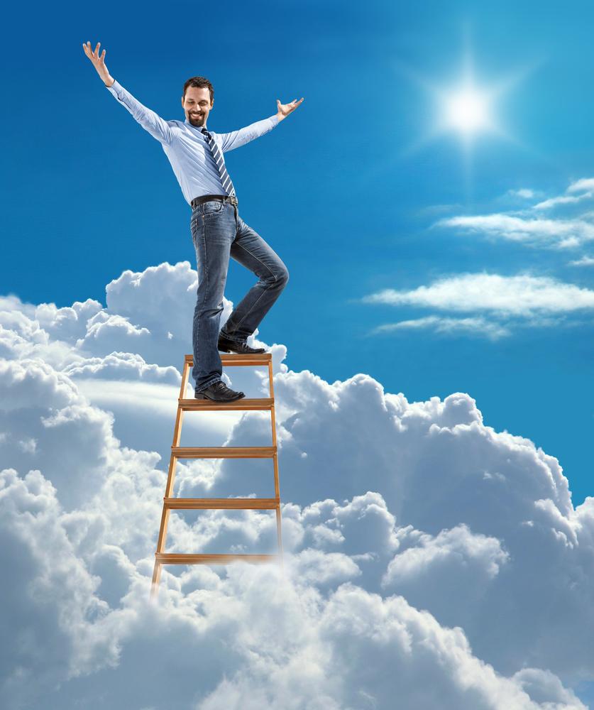 мужчина мечтает достичь своей цели