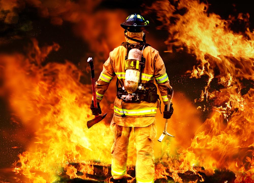 пожарный должен быть всегда храбрым