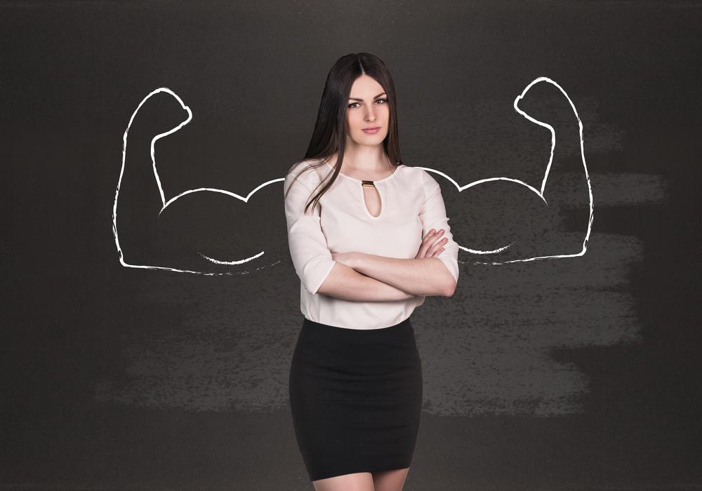 сила духа у женщины