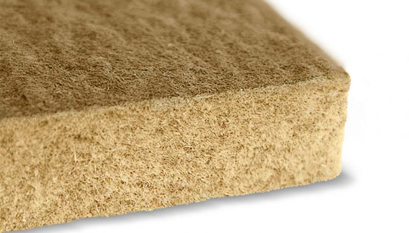Linen insulation boards