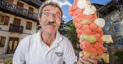 Мороженое-рекорд из 121 шариков