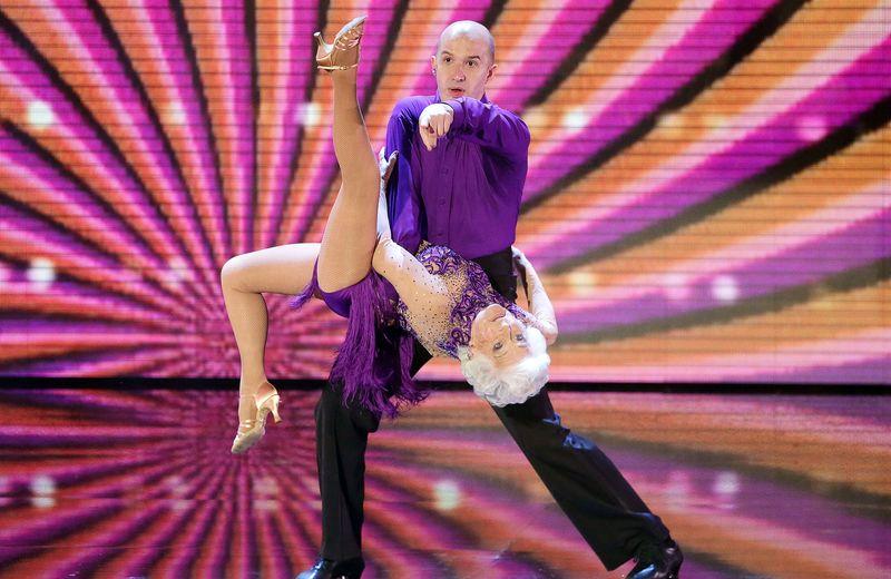 Пэдди Джон - самая старшая профессиональная танцовщица сальсы