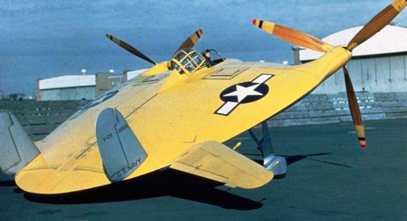 Истребитель V-173