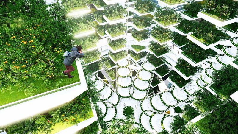 Вертикальные городские фермы