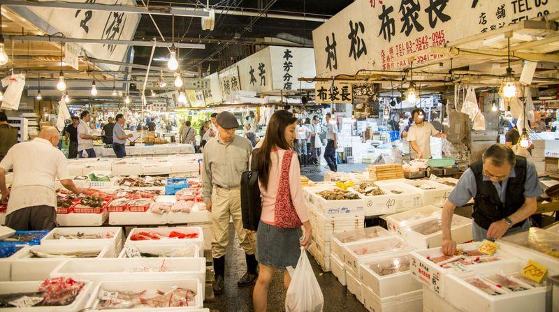 Рынок в Японии
