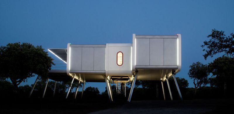 Дом-космический корабль