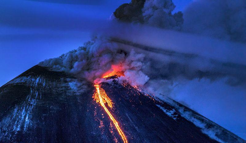 Ключевская Сопка - самый старый действующий вулкан